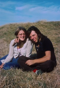 Rob and Terry August 1975-1